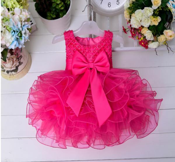 bērnu kleitiņa rozā