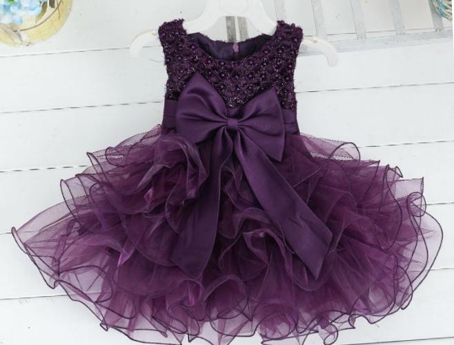 """Svētku kleitas bērniem. Bērnu svētku kleitiņa """"Anna"""" violeta"""