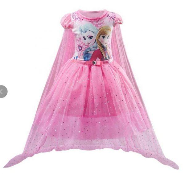 Frozen Elzas kleita rozā