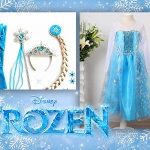 Frozen Elzas tērps