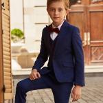 Uzvalki zēniem. Elegants trīsdaļīgs uzvalks LEO