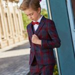 Uzvalki bērniem. Elegants trīsdaļīgs uzvalks Olivers