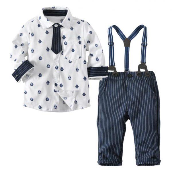 Svētku tērps zēnam 1 gada vecumam