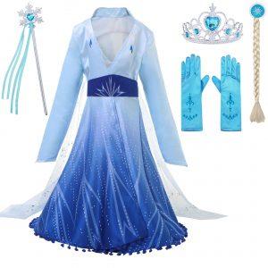 Frozen 2 princeses Elzas tērps