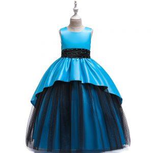 Gara meiteņu kleita