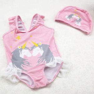 Bērnu peldkostīms ar cepurīti