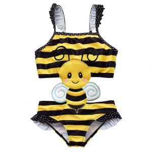Bērnu peldkostīms bitīte