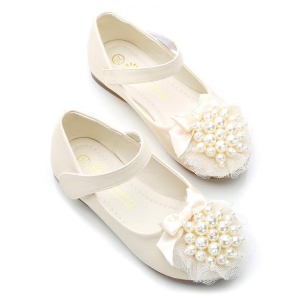 Baltas svētku kurpes