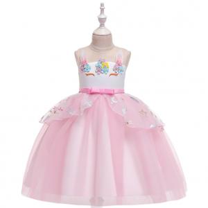 Bērnu princešu kleita Vienradzis