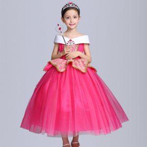 Rozā princeses Auroras kleita