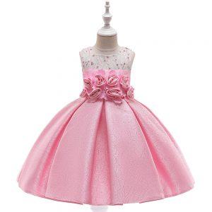 Rozā princešu kleita