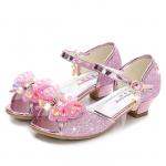 Bērnu augstpapēžu kurpītes rozā