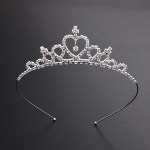 Princeses kronītis sudraba tonī