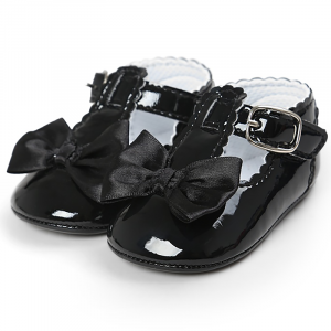 Zīdaiņu kurpītes melnas
