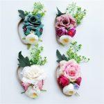 Romantiska ziedu matu rota