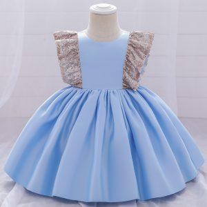 Svētku kleitiņa gaiši zila