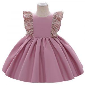 Svētku kleitiņa rozā