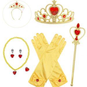 Princeses aksesuāri dzelteni