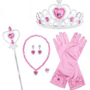 Princeses aksesuāru komplekts rozā