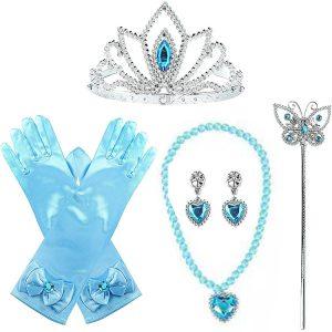 Princeses aksesuāru komplekts zils
