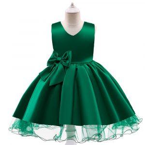 Mazuļu kleitiņa zaļa